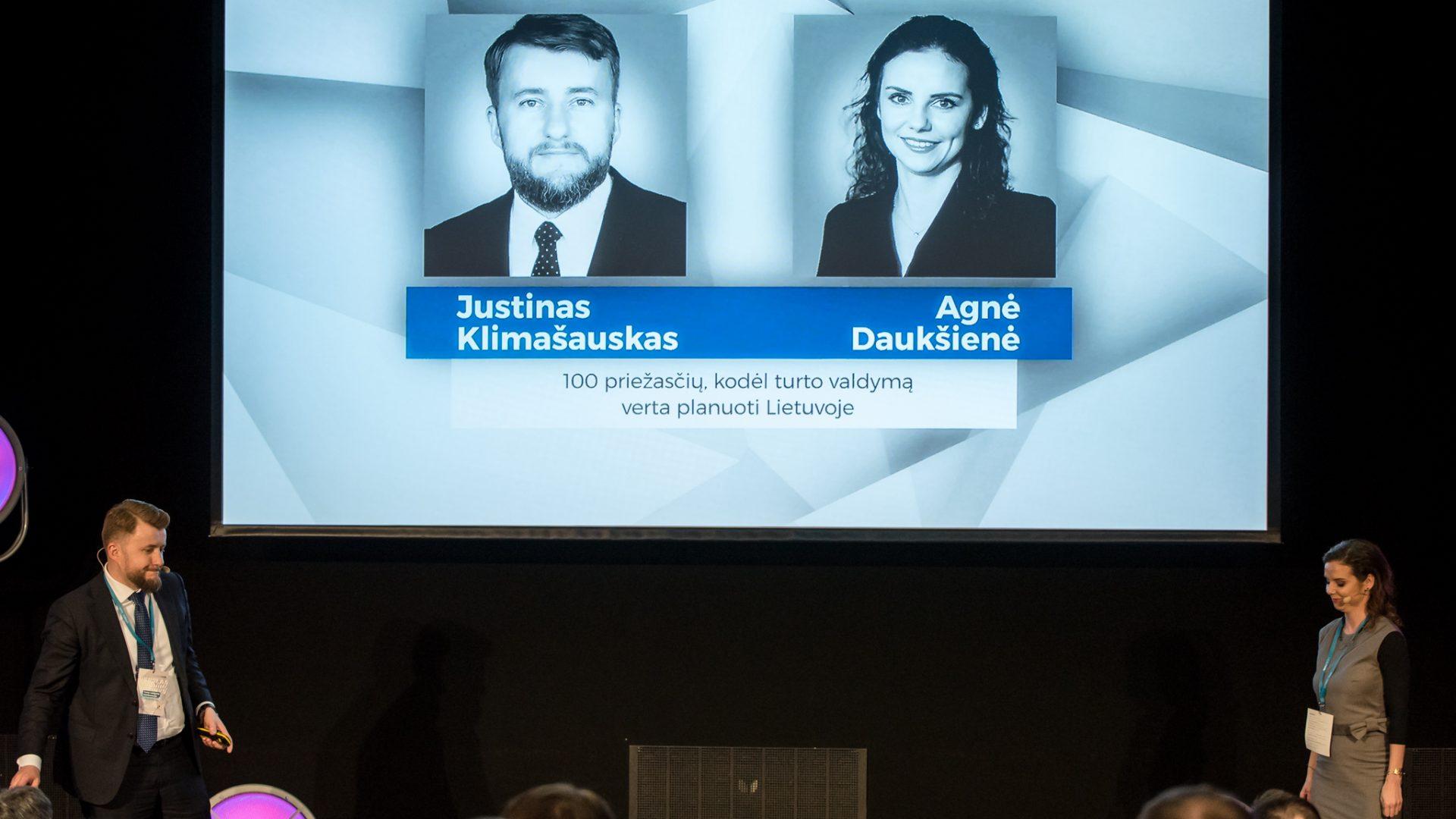 Justinas Klimašauskas; Agnė Daukšienė, Wealth360;;